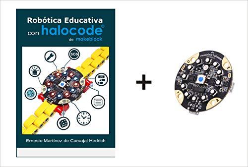 Pack Libro Robótica Educativa con Halocode + Placa Halocode