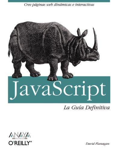 JavaScript. La Guía Definitiva (Anaya Multimedia/O´Reilly)