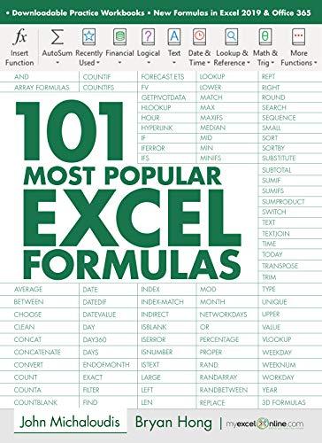 101 Most Popular Excel Formulas: MyExcelOnline.com (101 Excel Series Book 1) (English Edition)